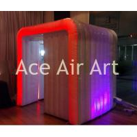 Quality rental indoor and outdoor cube inflatable photo booth for wedding event party decoration wholesale