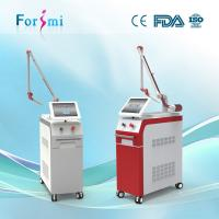 Quality Double Laser Bar 1064nm 532nm Q Switched Nd Yag Laser Tattoo Removal Machine wholesale