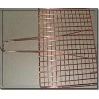 Quality Copper Barbecue Grill Netting with Handle wholesale