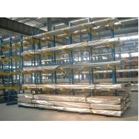 Quality Durable blue powder coating Cantilever Racking Systems for long material wholesale