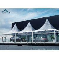 Quality White Marquee Pagoda Shape  Exhibition Event Tents For Conference wholesale