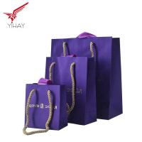 Quality Free Sample Custom print gold staming paper gift bag,Nice paper bag for jewelry and gift wholesale