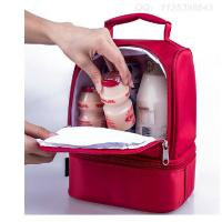 Quality Cute Kids Lunch Bags / Thermos Childrens Lunch Bag With Bottle Holder wholesale