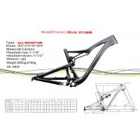 """Quality 27.5"""" ( 650b ) Carbon Single Speed Mountain Bike Frame of Internal Cable Routing HT-FM336 for sale"""