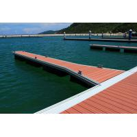 China KS1200 Marine Alloy Dock Finger 400mm - 600mm Freeboard Rubber Fender on sale