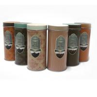 Quality Custom vintage tin coffee canister wholesale
