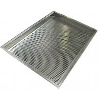 Quality 316  Stainless Steel Mesh Tray Oven Metal Perforatted Baking 2.0mm Thickness wholesale
