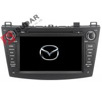 Buy cheap Radio RDS Car GPS Navigation DVD Player Mazda 3 Touch Screen Head Unit Heat Dissipation from wholesalers