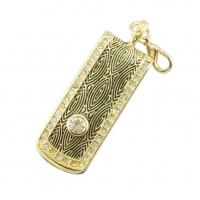 Quality Customized Diamond USB Memory Stick Storage Device, Jewelry USB Flash Drive wholesale