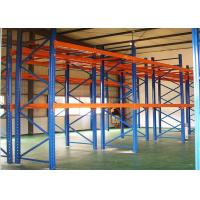 China Cold Rolled Steel Durable Storage Pallet Racking on sale