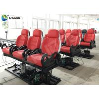 Quality Realistic 6D Cinema Equipment With Excited Motion Chair And Cinema Special Effects wholesale