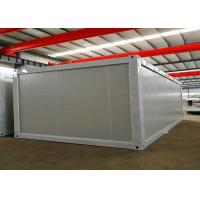 China Standard Modular Container House With Four Sliding Windows And Steel Door on sale