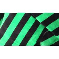 Buy cheap Microfiber Striped Fleece Fabric 120 - 260GSM 240T , Terry Velour Fabric from wholesalers