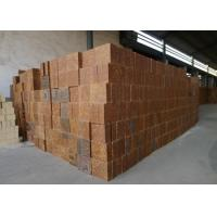 Quality Mullite Silica Refractory Bricks Bauxite Chamotte Material Brown Color For Cement Kiln wholesale