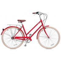 Cheap Carbon steel colorful 26 inch OL elegant city bicicle for lady  single speed for sale