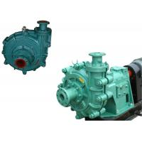 Cheap Electric Fuel Ash Slurry Pump , Mining Slurry Pump Singe Stage Motor Power for sale