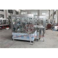 Quality Single Juice Bottle Filling Capping And Labeling Machine Piston Type wholesale