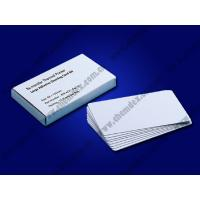 Buy cheap Re-transfer printer Large Adhesive Cleaning Card Kit from wholesalers