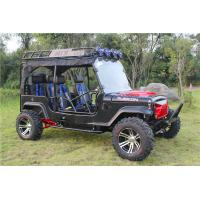 Buy cheap 4 Seats Go Kart Buggy Adult Toyota Jeep Go Kart 300cc With Auto Transmission from wholesalers