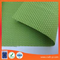 Quality Green color Textilene mesh fabric 2X2 weave mesh fabrics for outdoor chair wholesale