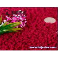 Quality Hot sell lamb wool fabric/velveteen for pajamas fabric and apparel wholesale