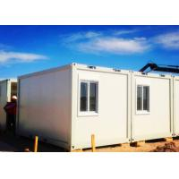 Quality Exquisite Simple Moving Container Homes Anti - Seismic With Laser Cut Screen wholesale