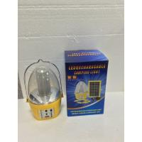 Hot selling plastic camping solar lantern with mobile phone charger