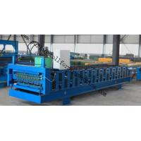 Quality Full-Automatic Standing Seam / Floor Deck Cold Roll Forming Machine 0.4mm - 0.8mm wholesale