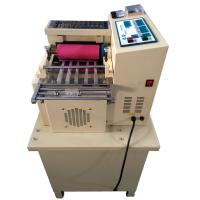 Elastic band, webbing, safety belt, luggage belt cutting machine