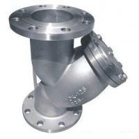 Quality Flanged End High Pressure Strainer 2 Y Type Class 150 With Gasket wholesale