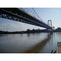 Buy cheap Heavy Loading Steel Cable Suspension Bridge High strength For highway from wholesalers