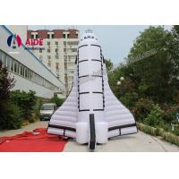 Cheap Oxford Cloth Fly Air Plane Blow Up Advertising With CE Blower For Promotion for sale