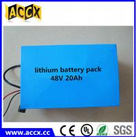 Quality 48V 20Ah Lithium e-bike battery/LiFePO4 battery/NCM battery, e-bike battery 48 volt wholesale
