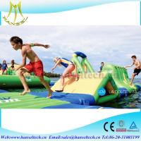 China Hansel fantatic inflatable island and float ourdoor on sale