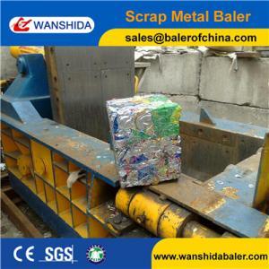 China Scrap Metal Baler Press for scrap aluminum on sale