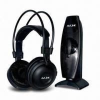 Quality Infrared Virtual 5.1-ch Wireless Headphones with Built-in 40mm Mylar Speaker, for Home Audio System wholesale