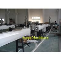 China High Output 20-63mm Single Screw Water PE Pipe Production Line 20*3*2meters on sale