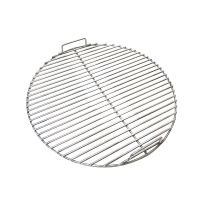 China ISO9001 Round Shaped 6mm Flat Industrial Charcoal BBQ Grill on sale