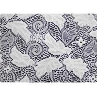 Cheap 100% Polyester Wedding Dress Lace Fabric Embroidered Fabric By The Yard for sale