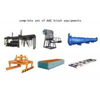 Quality Cost Performance Fly Ash Autoclaved Aerated Concrete Equipment AAC Block Machine wholesale