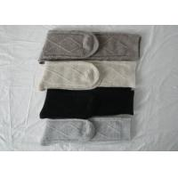 China Sexy Lady Knitted Knee High Tube Socks with Plain AND Double Needle for Autumn on sale