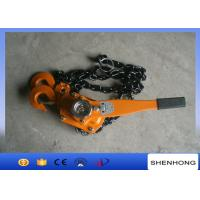 Quality Cable Pulling Tools Hand Chain Hoist / 3 Ton Level Chain Hoist Block wholesale