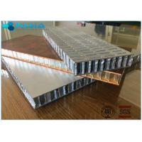 Buy cheap 0.025 Perforated Efficiency Honeycomb Building Material Core Slices High from wholesalers