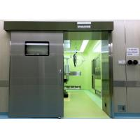 Quality Medical Operating Room Automatic Hermetic Sliding Door Stainless Steel wholesale