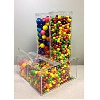 Quality Eco-Friendly Candy Acrylic Display Cases Storage Box Dispenser wholesale