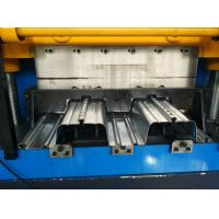 Buy cheap 0.8 - 1.5mm Thickness Floor Deck Roll Forming Machine CNC Roll Forming Machine product
