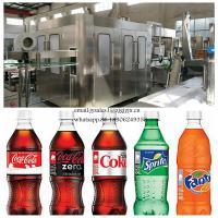 Cheap Automatic Carbonated Beverage Production Line / 3-In-1 Soft Drink Filling Machine for sale