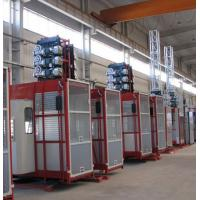 China Double Cabin Personnel And Materials Hoist , Construction Material Lifting Hoist on sale