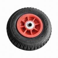 China Pneumatic Rubber Wheel with ISO 9000:2001 and CCC Marks on sale