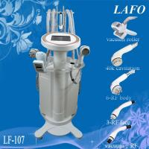 China 5 in 1 vacuum roller cavitation rf massage slimming machine on sale